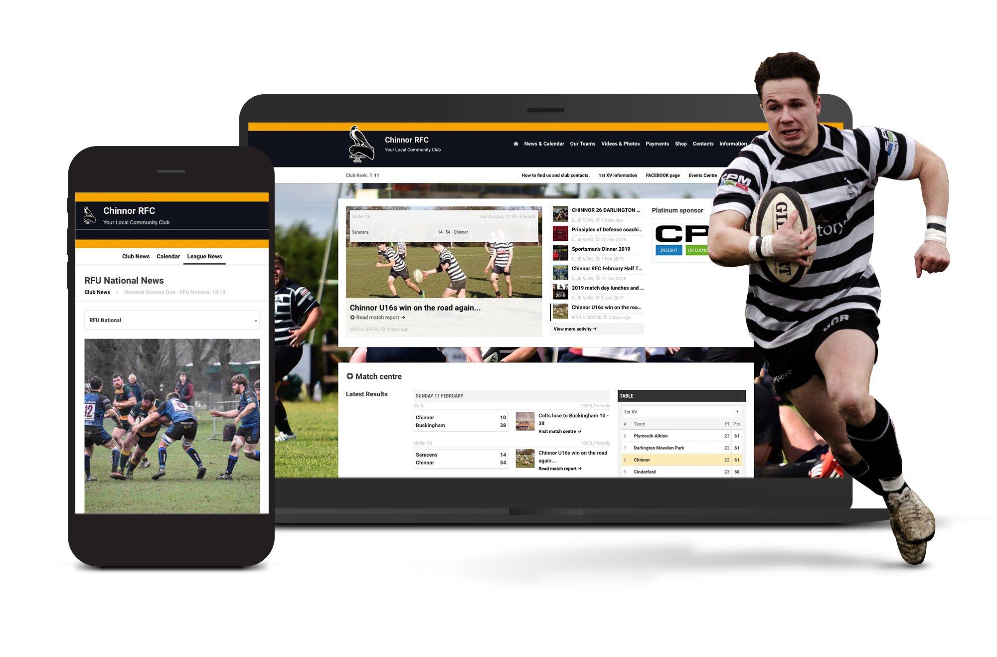 Chinnock RFC Website