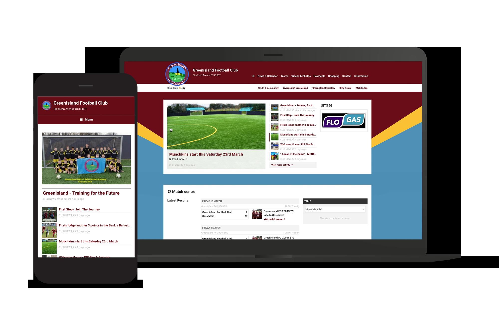 Greenisland Club Screens