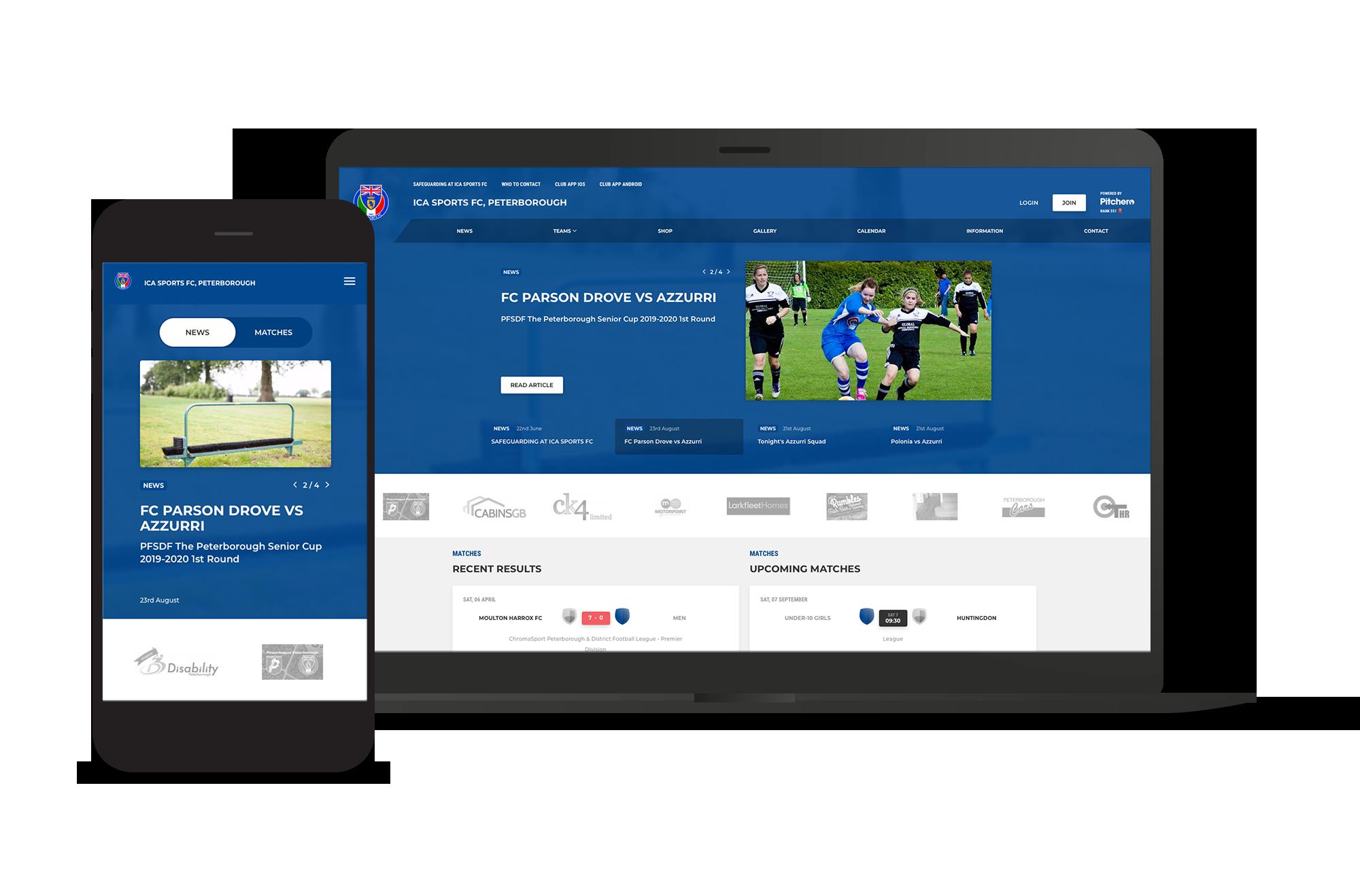 ICA Sports Club Screens