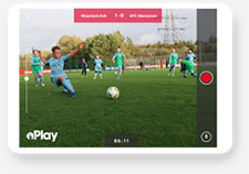 Mountain Ash Pitchero Play tablet mockup