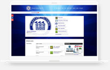 Blantyre Victoria FC Pitchero Club Website laptop mockup