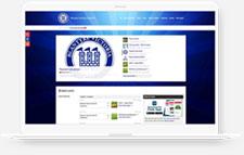 Blantyre Victoria FC Pitchero Club Website laptop mockup