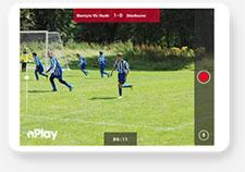 Blantyre Victoria FC Pitchero Play tablet mockup