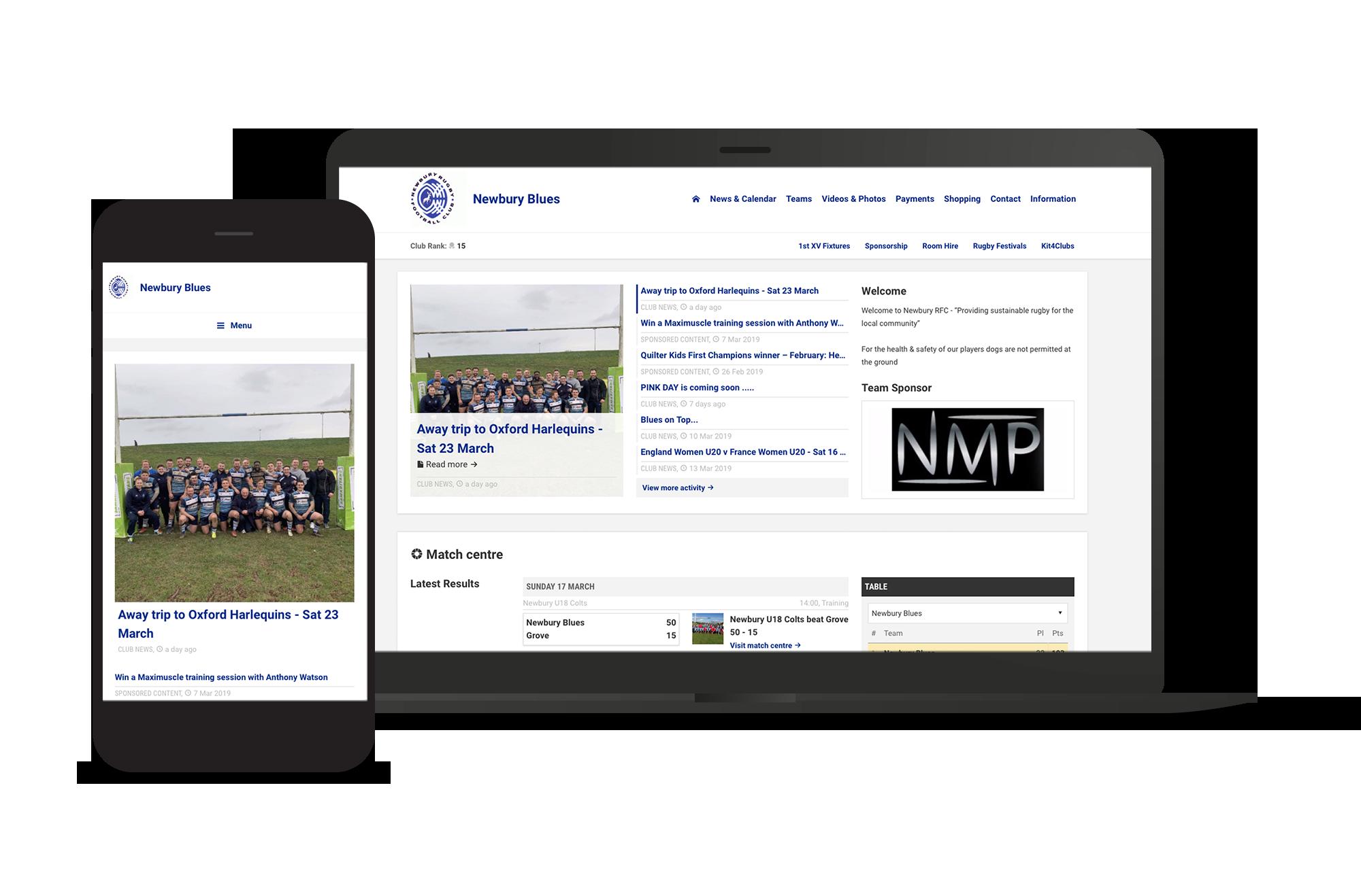 Newbury Blues Club Screens