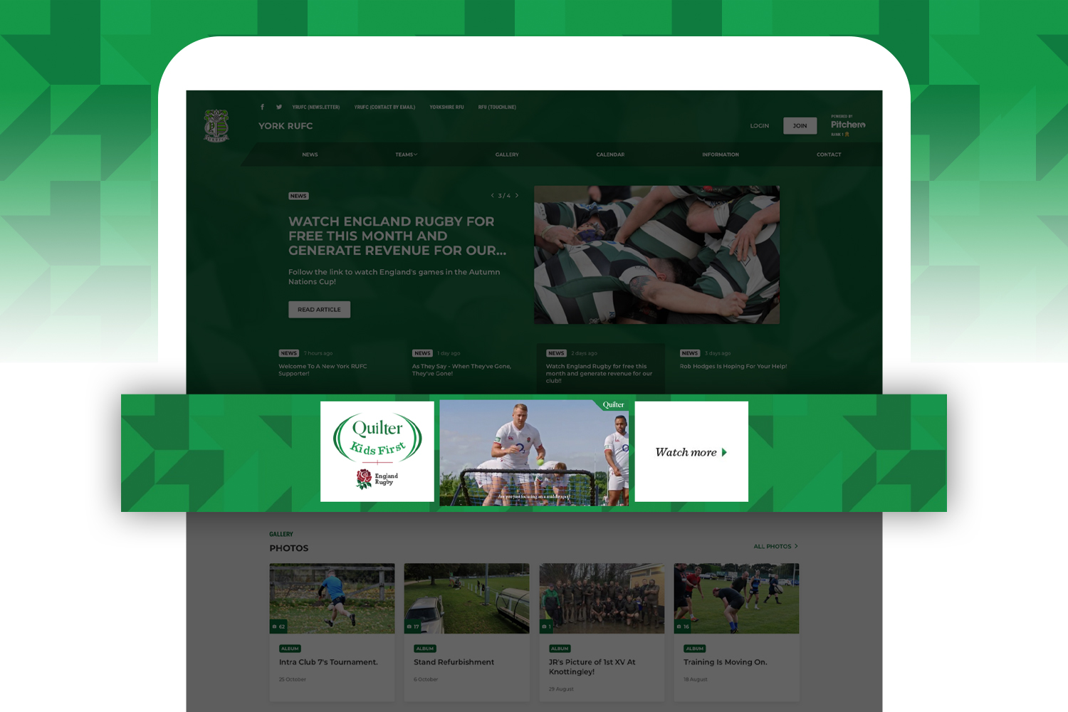 Quilter-rugby-branding