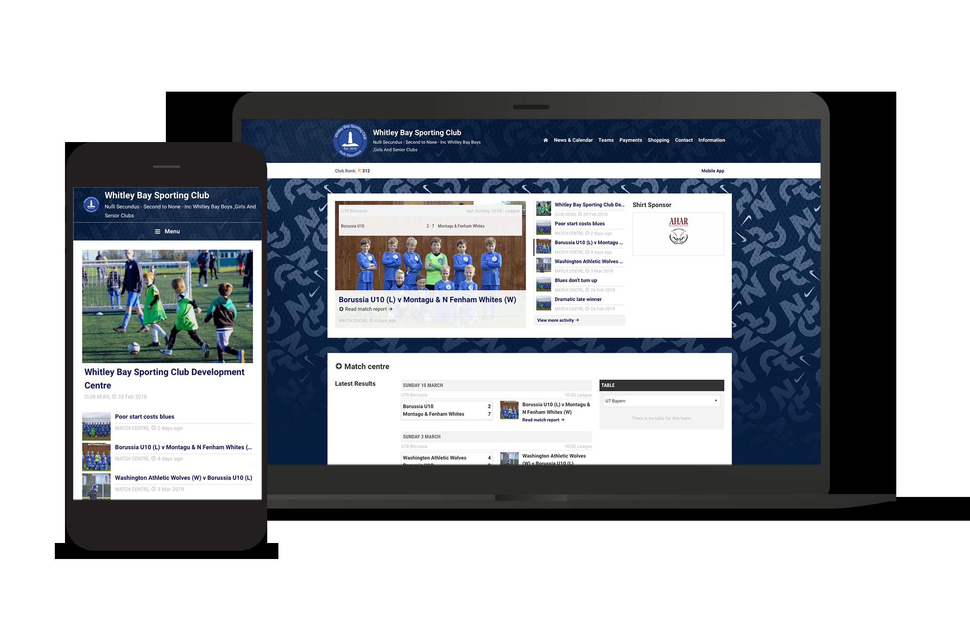 Whitley Bay Club Screens