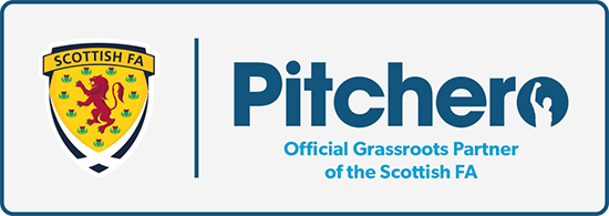 Pitchero Scottish FA partnership logo