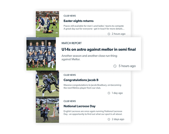 Pitchero Product Content Creation News Features Match Report